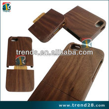 china manufacturer black walnut wood phone case for iphone 5