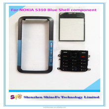 Black Full Housing Cover + Keypad for Nokia 5310 Mobile Phone Repair Parts