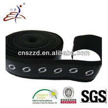 Transparent Custom Printing Silicone Elastic Rubber Band