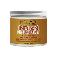 Naturals orgnic Indian Healing Bentonite Clay for face