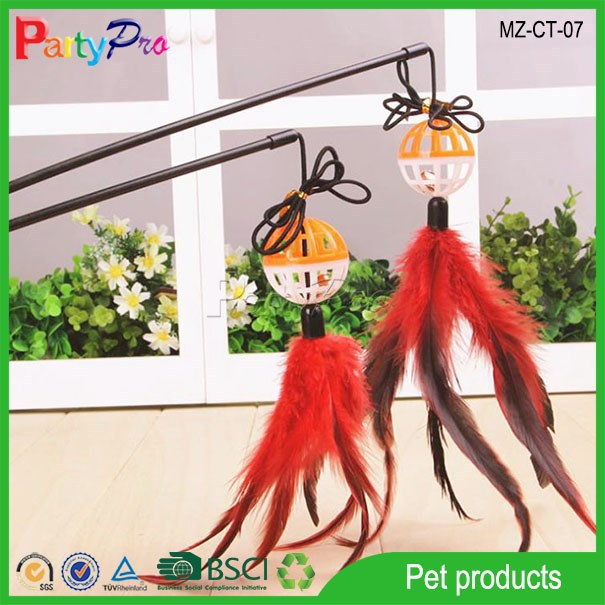 2015 Pets Favorite Lantern Teasing Stick with Bell Home Made Sleeping Cat Toy