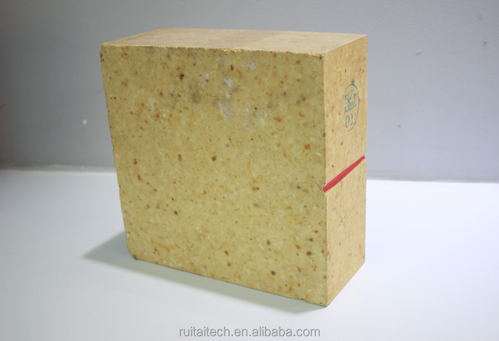 Zhengzhou Ruitai Anti-spalling high alumina curved fire brick
