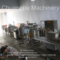 1000L Per Hour Processing Fresh Milk Pasteurizing Machine For Sale