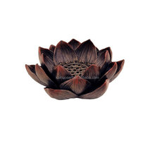 Lotus Incense Burner and Votive T-light Candle Holder