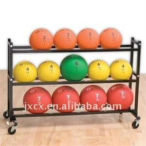 S6201 steel 3-Tier ball storage rack