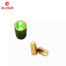 Dot lasers use 30mW cylinder-shaped 532nm industrial green laser module