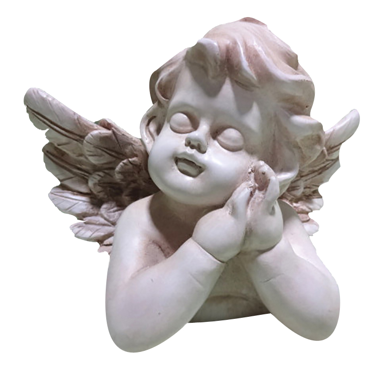 Handmade Exquisite Large Resin Angel Statue