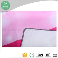 Water absorbing microfiber sublimation printed non slip yoga towel