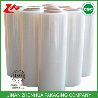 waterproof self bonded plastic roll 20micron lldpe stretch film