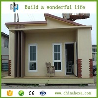 Steel luxury building kit set homes