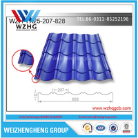 High Quality Roofing tile sheet metal price, China popular galvanized roofing shingles