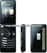 Hot Qwerty Flip mobile dual sim Phone E8 FM bluetooth GPRS Camera TV