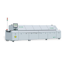 KTR-1000 SMT automatic PCB soldering machine lead free hot air 10 zones reflow oven