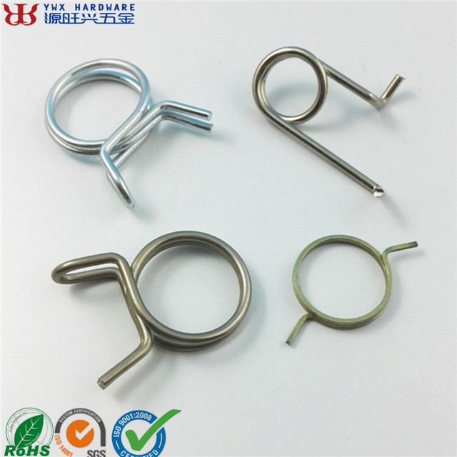 Manufacturer Custom Chromed Plated Stainless Steel Torsion Spring Clamp
