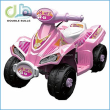 Custom Pink Color Childrens ATV Powered Toy Car