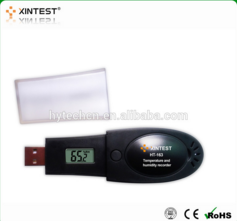 HT-163 USB Barometric pressure/humidity and temperature datalogger with LCD diaplay
