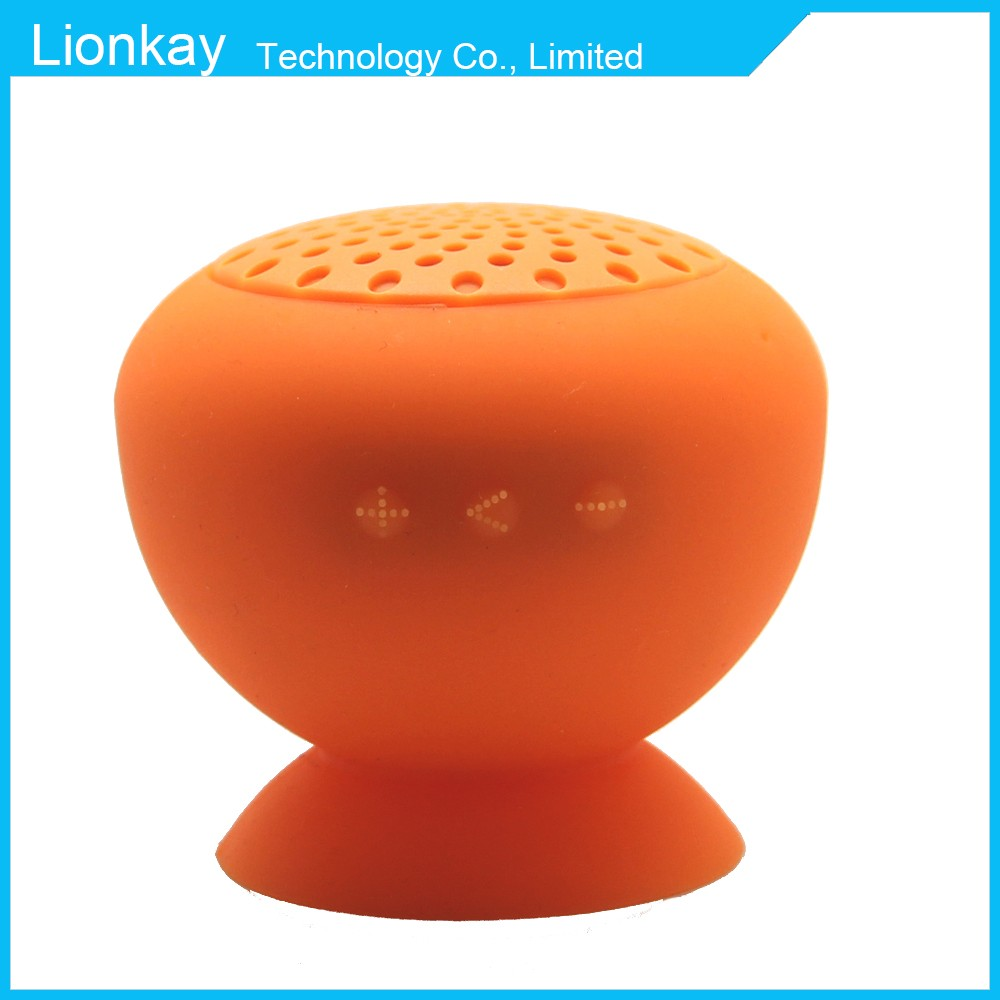 Portable shower Wireless music mini waterproof mushroom bluetooth Speaker