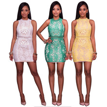 2017 Fashion new summer dress latest lace dress designs for women party