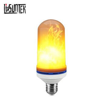 Three Modes E27/E26/B22 Electric Fire Light Bulbs Artificial Flame Lamp Led Flame Lights