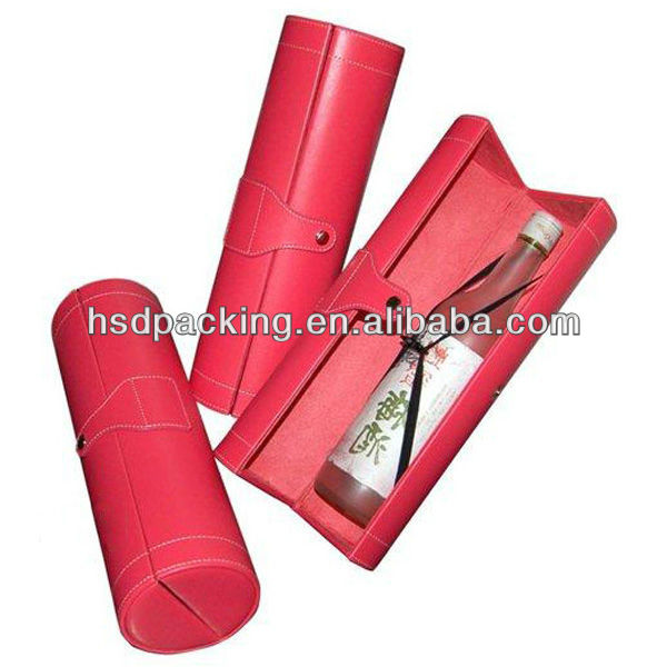 sylindrical wine shipping boxes sylinder wine boxes supplier