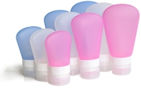 Bpa Free Squeeze Silicone Cosmetics Travel Bottle Branded Hotel Amenity