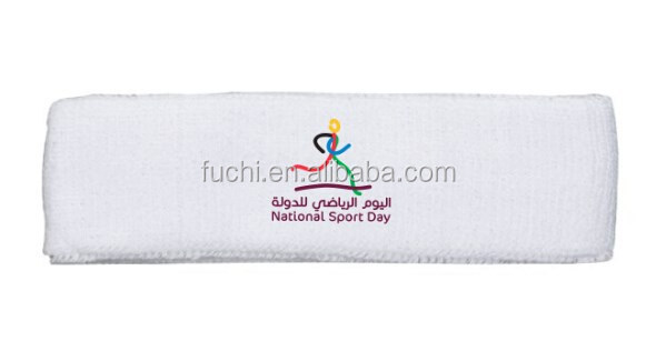 Sports Head Band 100% Cotton Sports Head Band For Qatar Sports Day Gifts