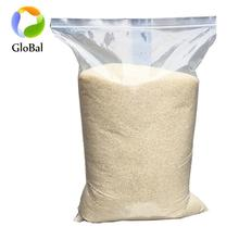 Wholesale big size 20kg 25kg 30kg 40kg 50kg rice packaging bags with zipper accept printing