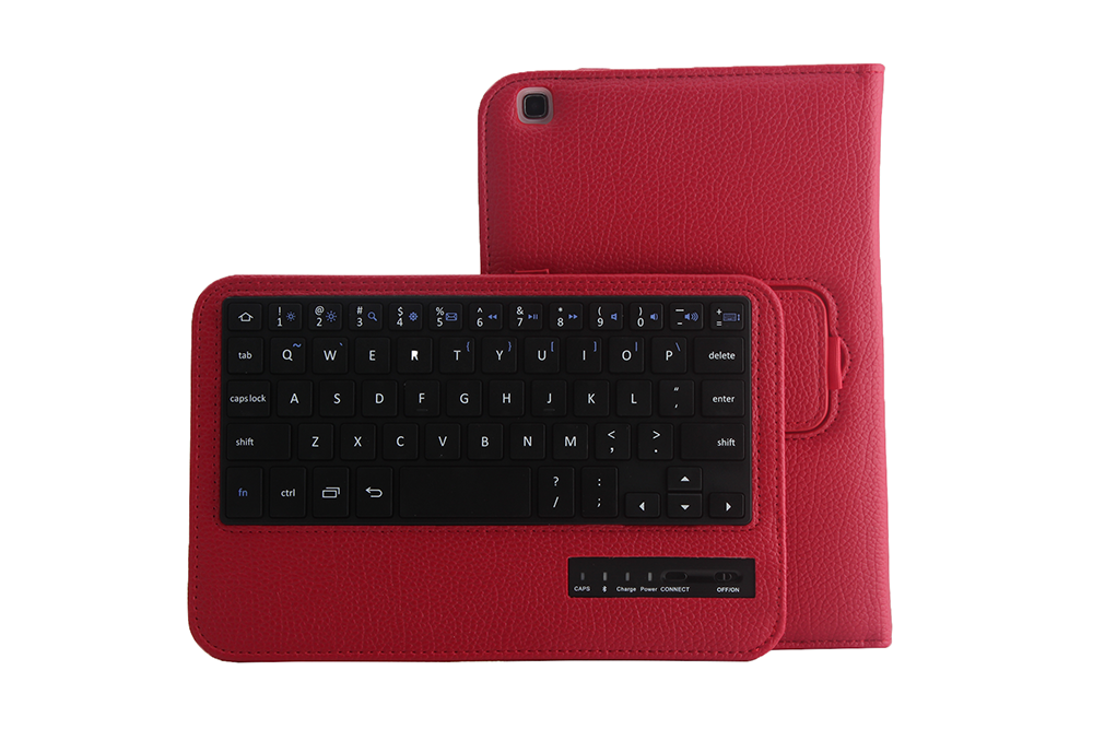 China high quality wholesale Fashion design Bluetooth keyboard for tablet pc Samsung TAB3 8.0inch T310-SA08B