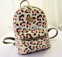 New product custom printed PU mochilas escolares wholesale