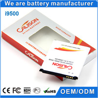 3.7V 2600mah capacity mobile phone battery i9500 work for samsung mobile phone