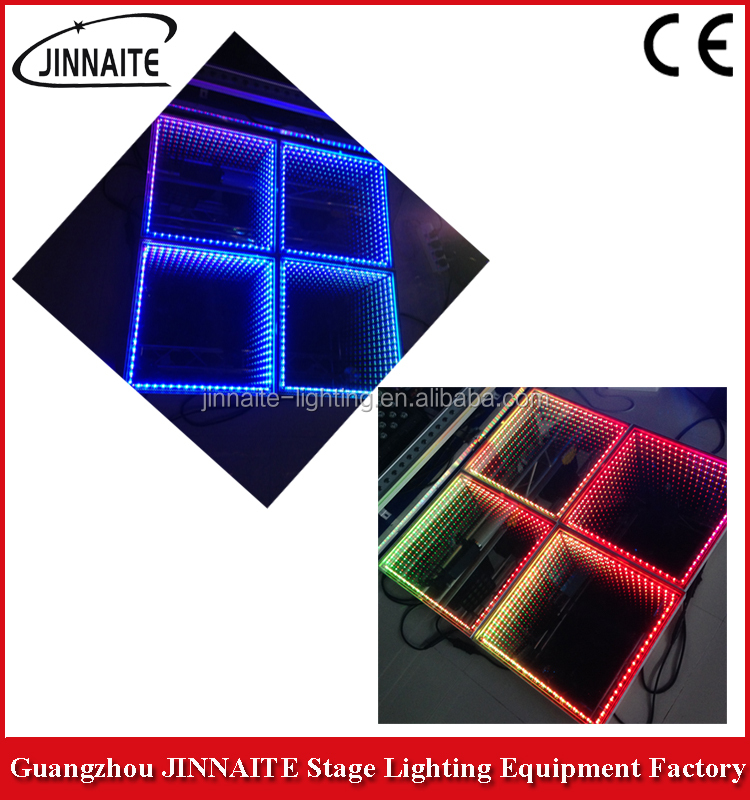 Wedding decoration Excellent Time Tunnel Abyss Effect 3D Dance Floor light with CE, RoHS certificate