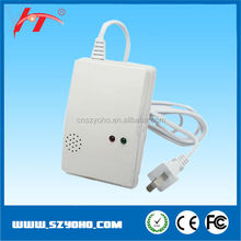 exhaust gas detector,gas detector system With Flashing Warning Lights