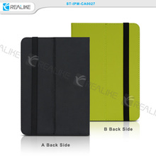 "smart case for apple ipad mini 3 7.9""tablet, dual sides could be used , multi-angle stand case for ipad mini 3"