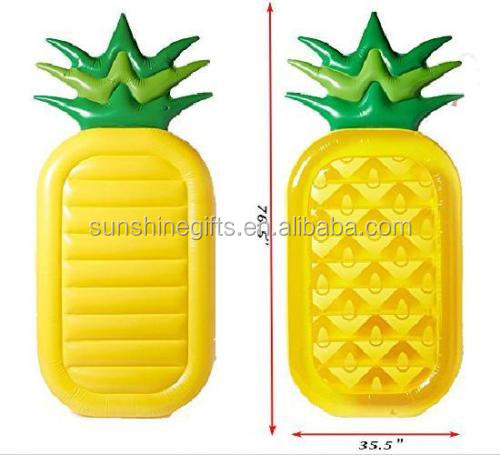 Swimming Pool GIANT Inflatable Pineapple Float Floatie Pool Party Lounge Raft