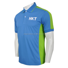 Custom Men's Color Combination Collar Design T-Shirt Polo