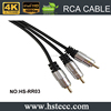Xerxes RCA cable for audio adapter male to male with gold connector car audio video RCA cable