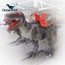 OAV23845Playground Equipment Kiddie Walking Animatronic Dinosaur Rides