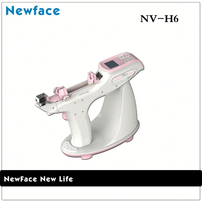 NV-H6 injection molding machine nanocrystal needle no-pain meso gun for beauty Salon ( CE Approved )