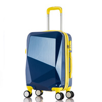 100% REAL PRICE Factory wholesale 360-degree carry-on light weight trolley hard case wheel luggage