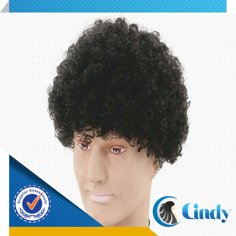 cheap best selling good quality real human short afro braided hair wigs for black men