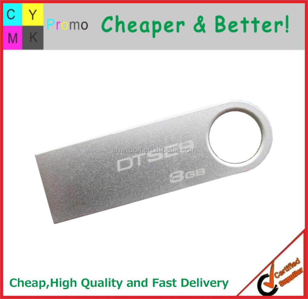 2016 Customized logo Printed Promotional Metal Cheap USB Flash Drive