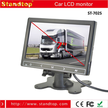 Cheap Price 7 inches TFT LCD Monitor with 2 Video Input