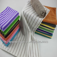100% polyester /80% polyester 20% nylon colors microfiber cleaning bath towel