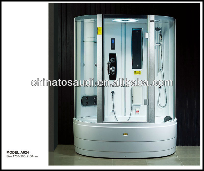 Tempered glass steam shower cabinet & Sanitary wares &Massge showers