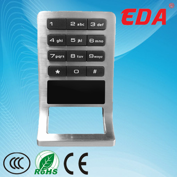 Smart RFID card battery operated electronic door locks for cabinet,locker