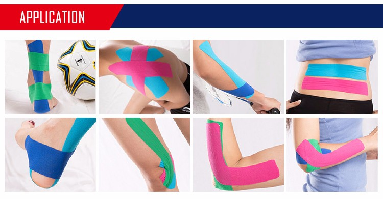 Breathable athletes sports 5cm 5m kinesiology tape