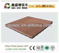 Most popular wpc DIY decking/wpc DIY flooring