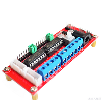 High Quality 4 DC Motor Drive Module 4WD car L293D dc motor control circuit board