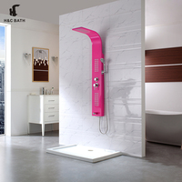 Sanitary Fittings Price Stainless Steel Panel Shower