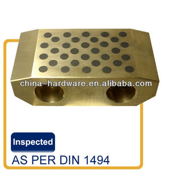 flange spherical roller bearing,Brass Wear plate with graphite